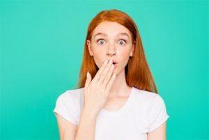 Voice Over blooper girl